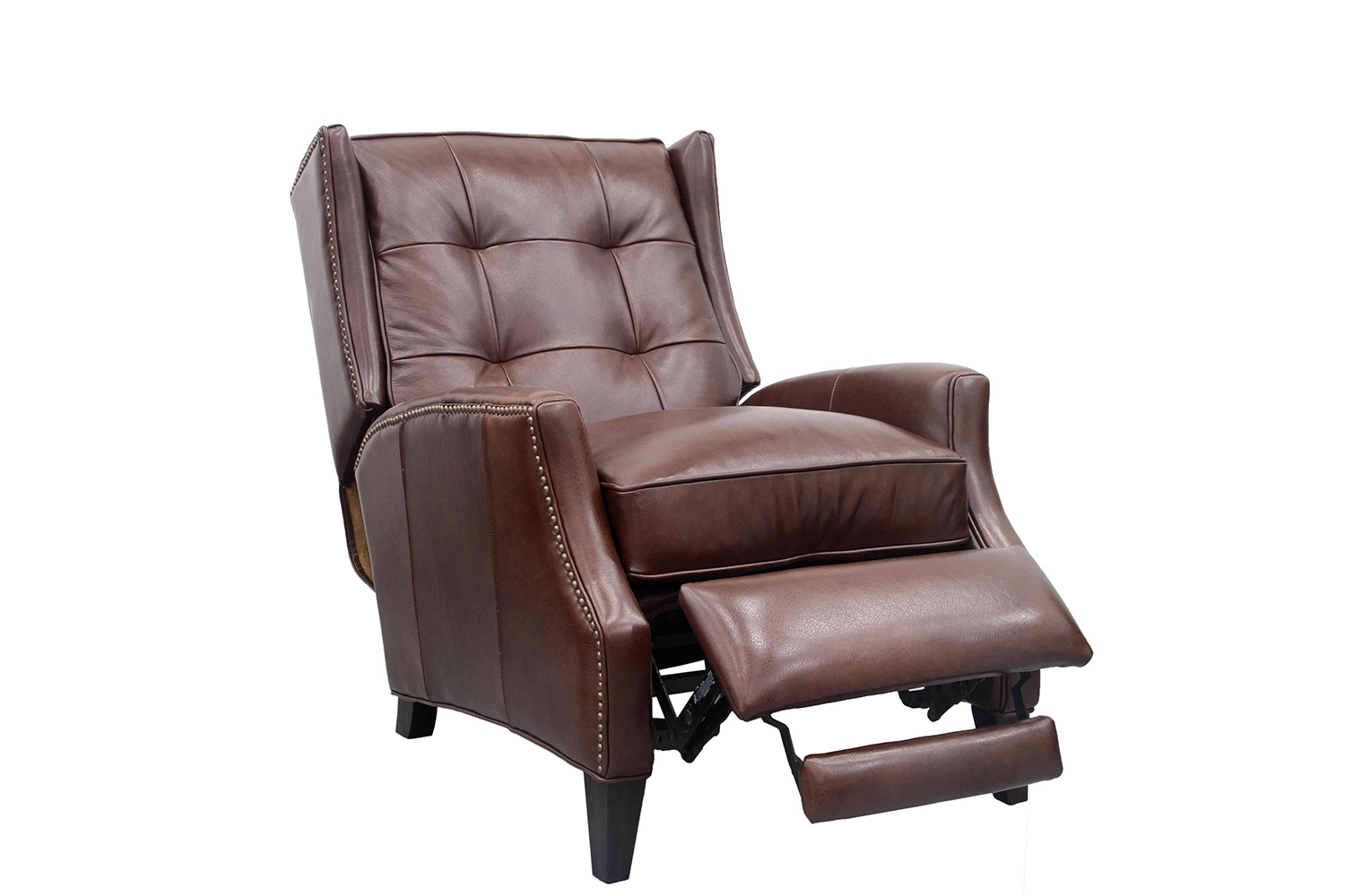 Barcalounger Lincoln Recliner Chair - Shoreham Chocolate/All Leather