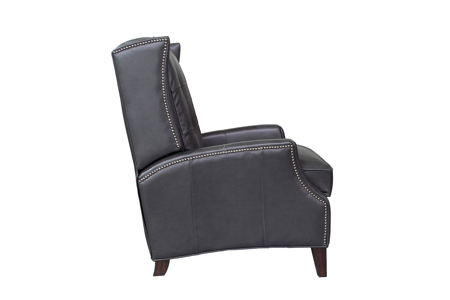 Barcalounger Lincoln Recliner Chair - Shoreham Gray/All Leather