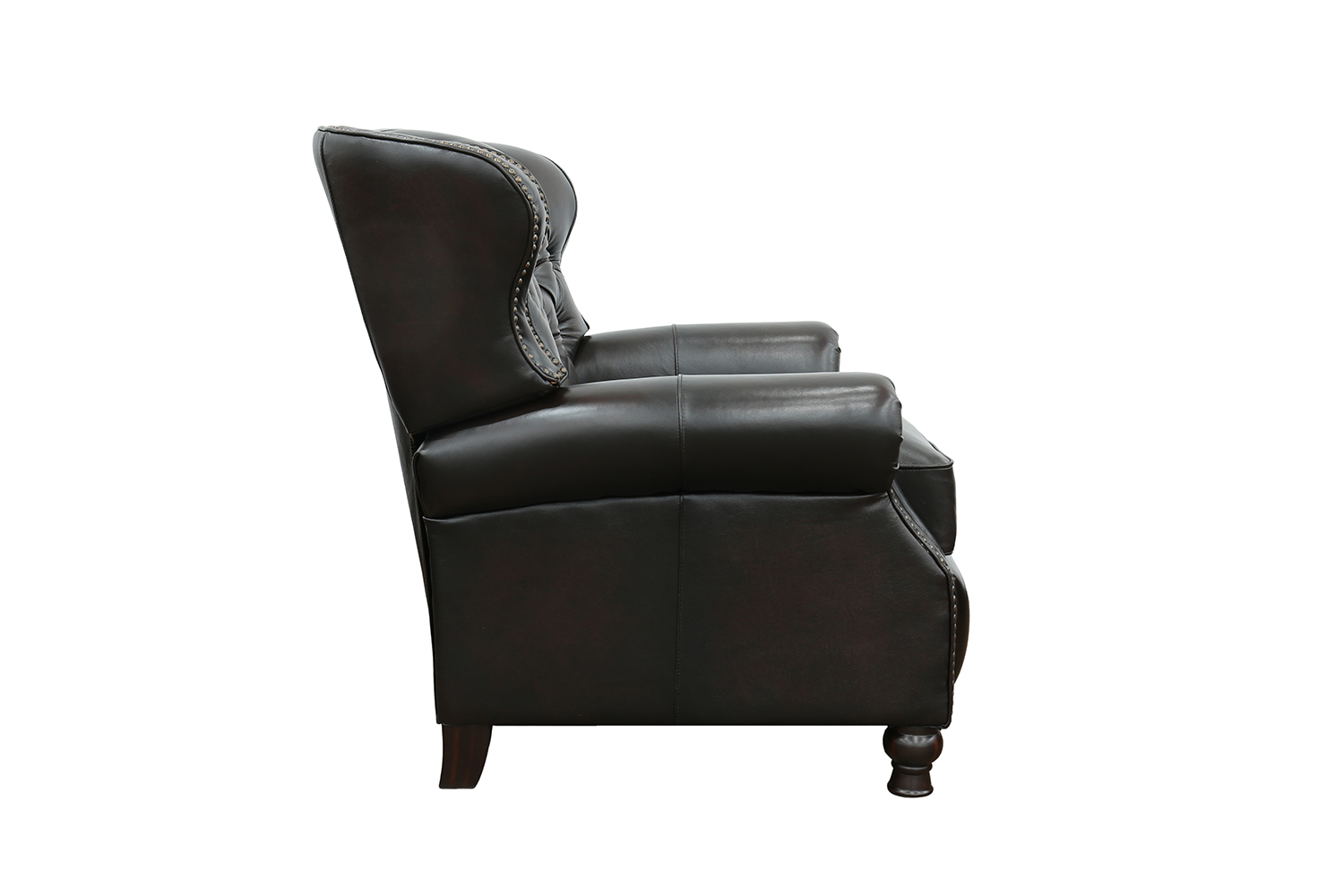 Barcalounger Presidential Recliner Chair - Stetson Coffee/All Leather