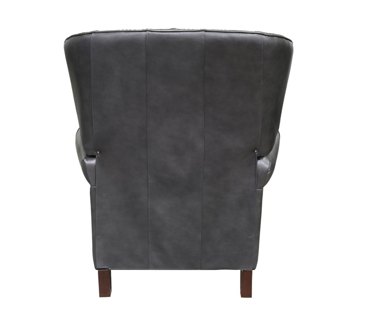 Barcalounger Presidential Recliner Chair - Wrenn Gray/all leather