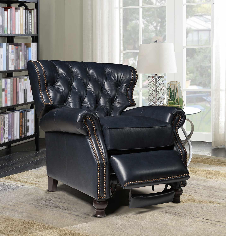 Barcalounger Presidential Recliner Chair - Shoreham Blue/All Leather