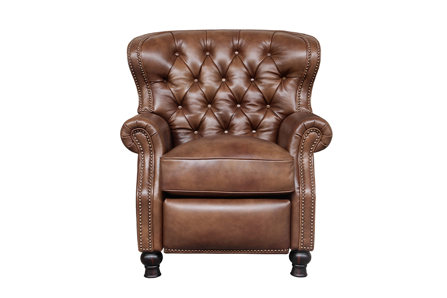 Barcalounger Presidential Recliner Chair - Wenlock Tawny/All Leather