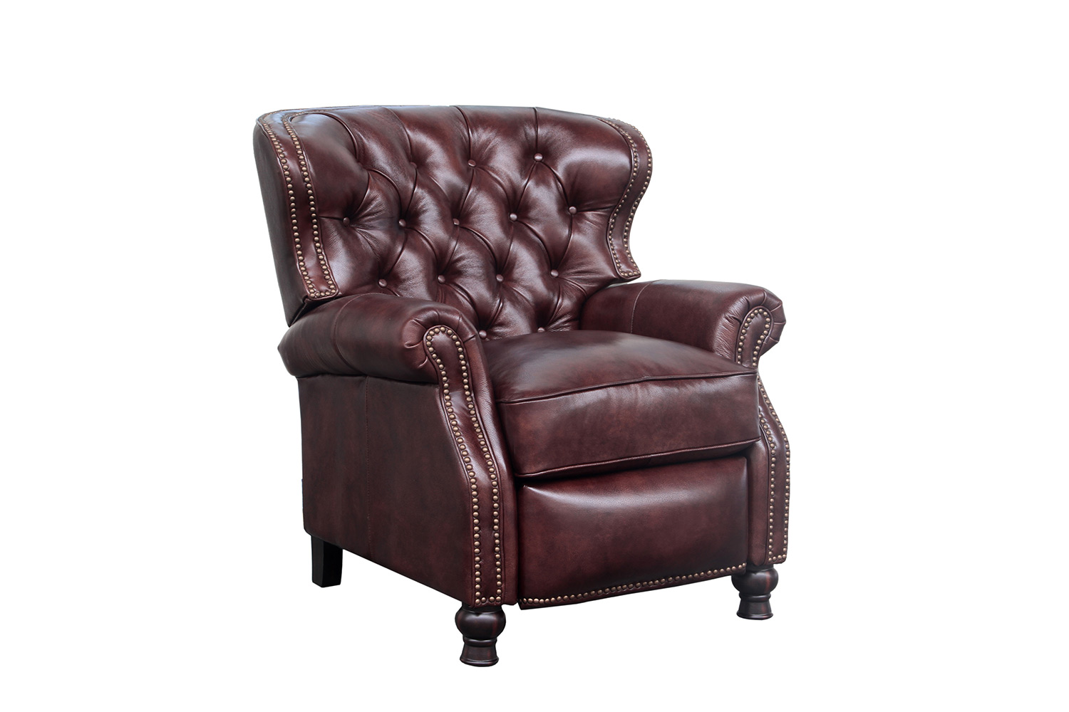 Barcalounger Presidential Recliner Chair - Wenlock Fudge/All Leather