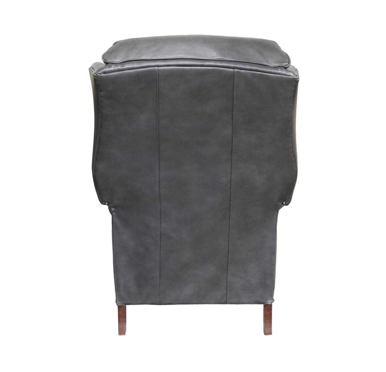 Barcalounger Danbury Recliner Chair - Wrenn Gray/all leather