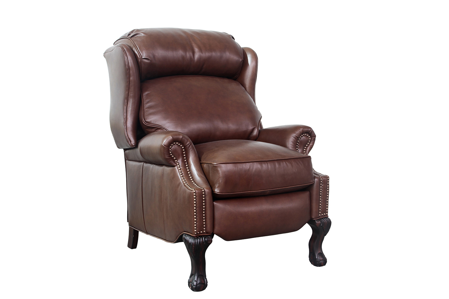 Barcalounger Danbury Recliner Chair - Shoreham Chocolate/All Leather