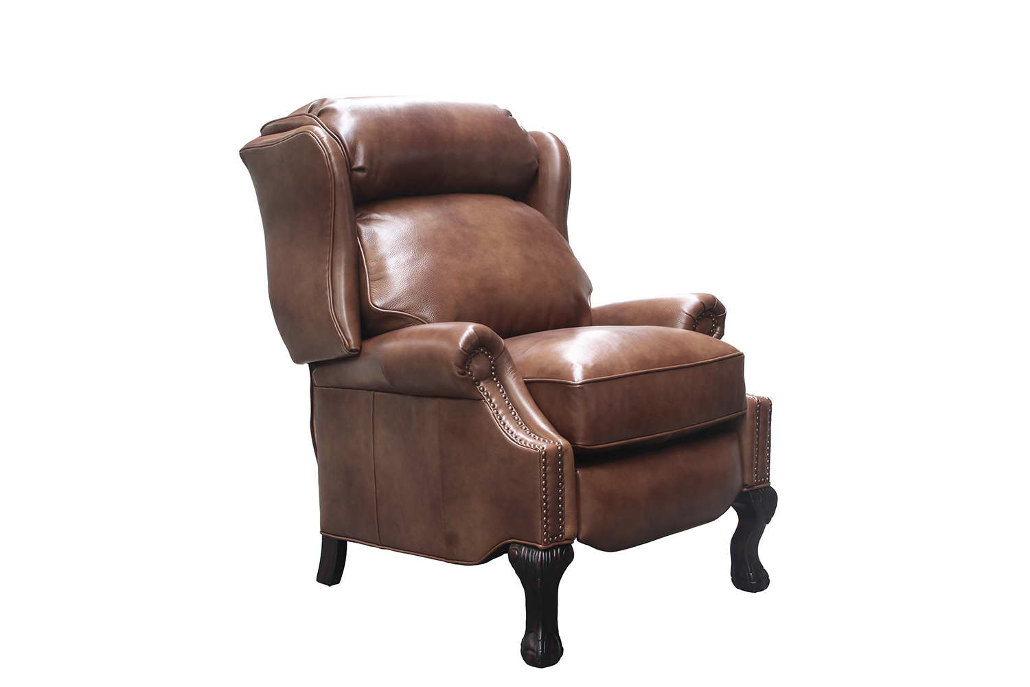 Barcalounger Danbury Recliner Chair - Wenlock Tawny/All Leather