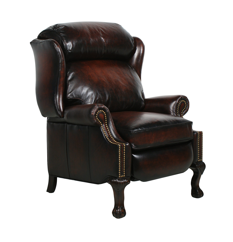 Barcalounger Danbury Ll Vintage Reserve Leather Recliner