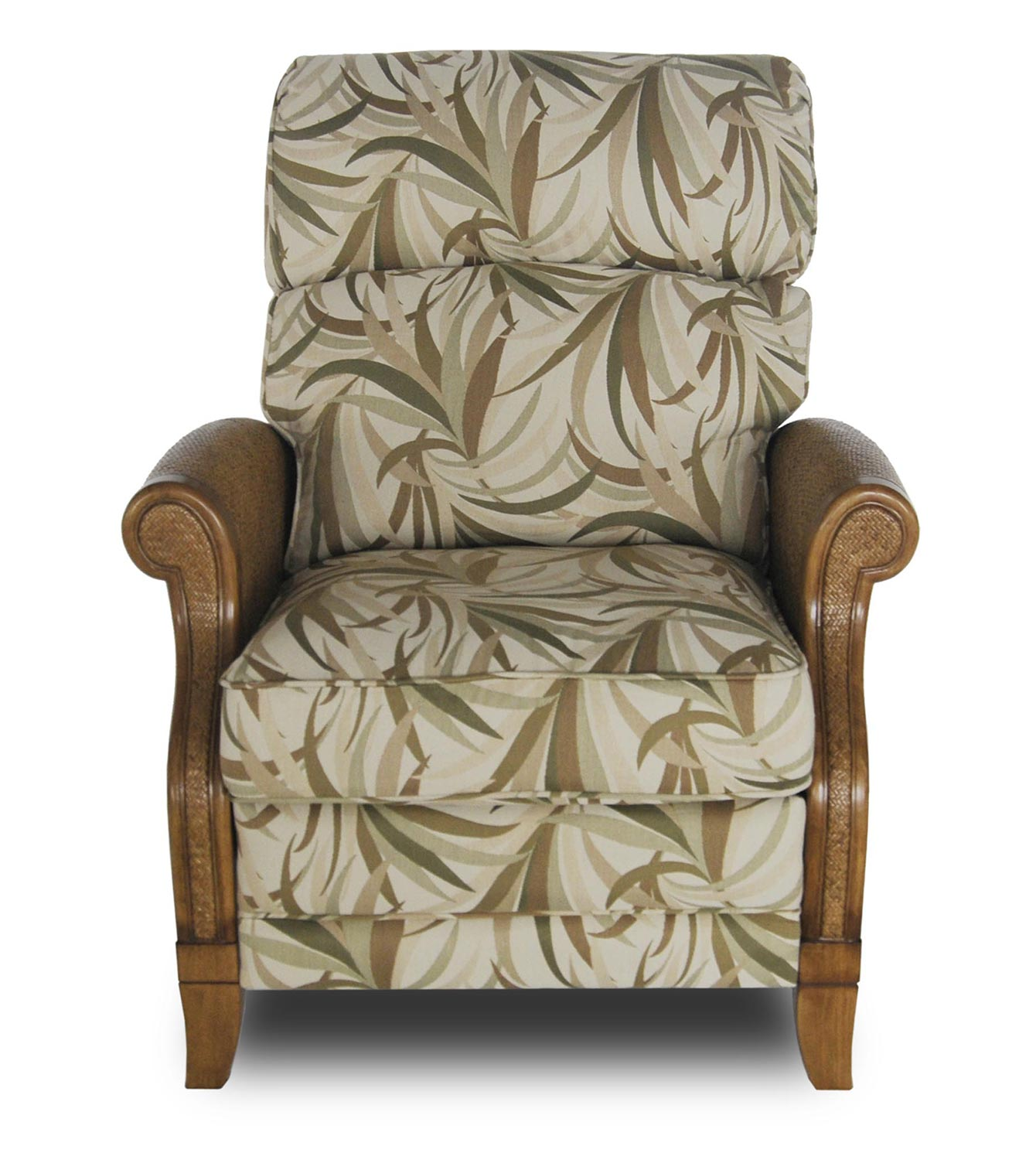 Info about Barcalounger Malaysia Basil Nassau ll Woodland Reserve Recliner Chair Product Photo