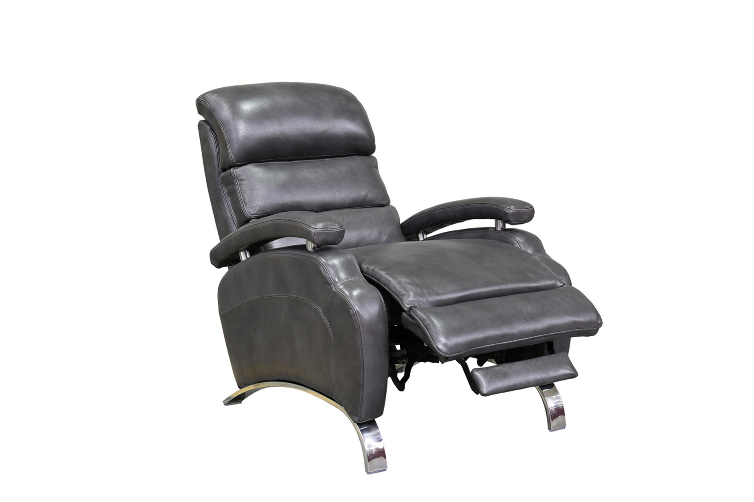 Barcalounger Giovanni Recliner Chair - Wrenn Gray/all leather