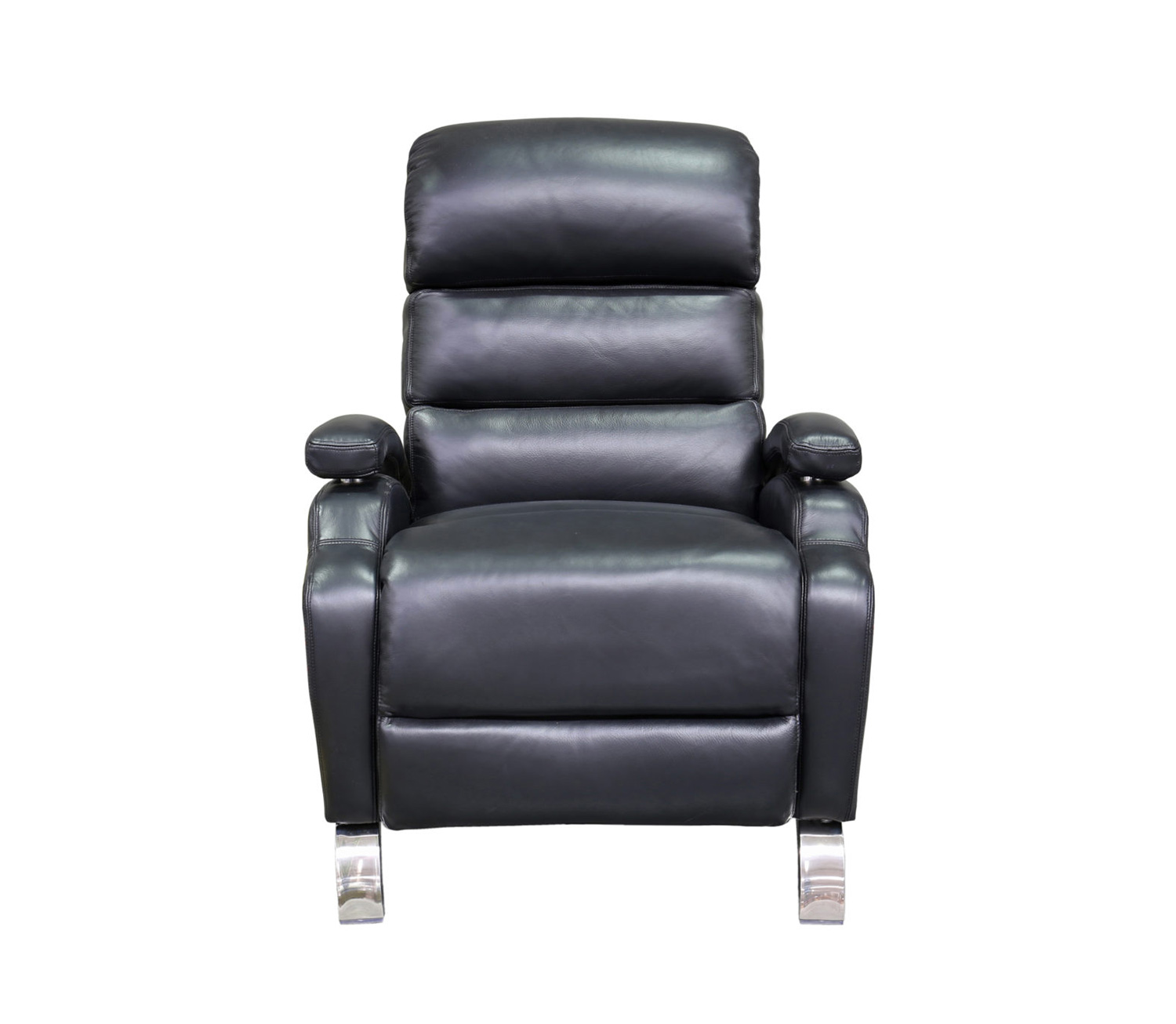 Barcalounger Giovanni Recliner Chair - Wenlock Onyx/all leather