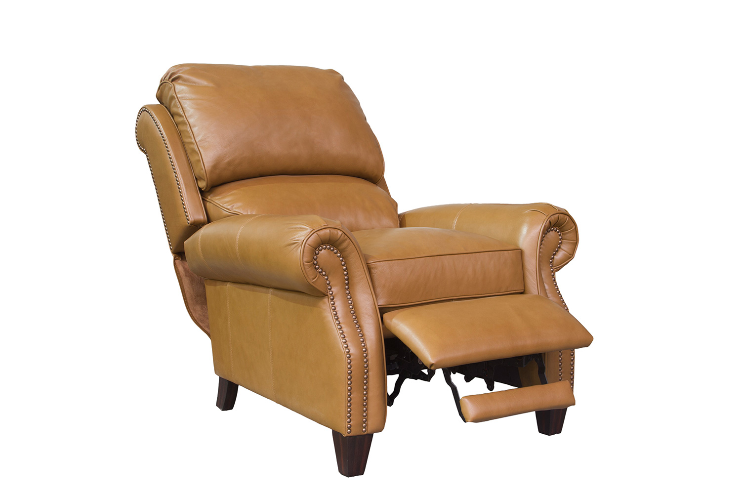 Barcalounger Churchill Recliner Chair - Shoreham Ponytail/All Leather