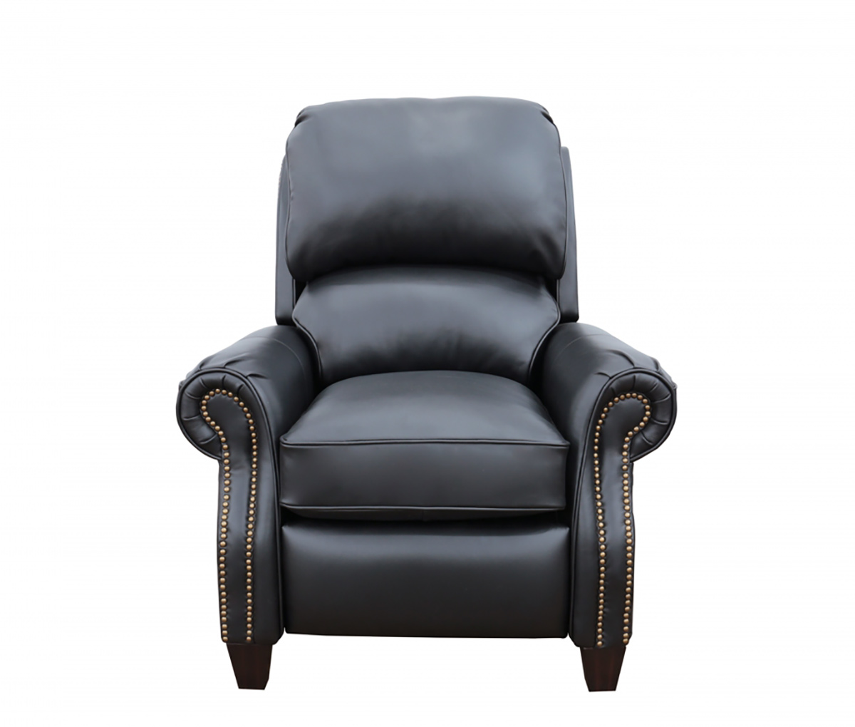 Barcalounger Churchill Recliner Chair - Wenlock Onyx/All Leather