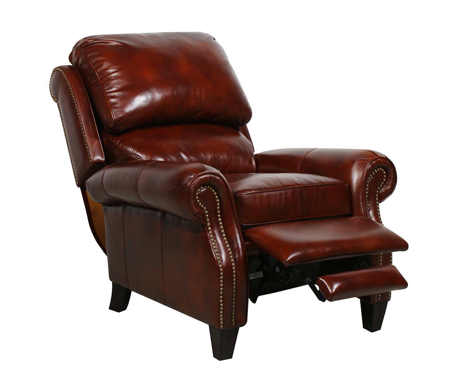 Barcalounger Churchill Ll Vintage Reserve Leather Recliner