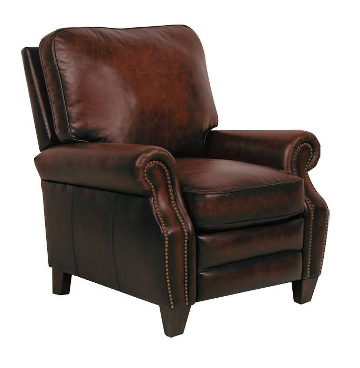 Barcalounger Briarwood Recliner Chair - Stetson Coffee/All Leather