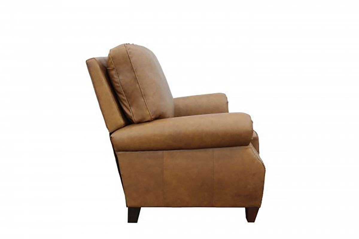 Barcalounger Briarwood Recliner Chair - Rustic Bourbon/All Top Rain Leather