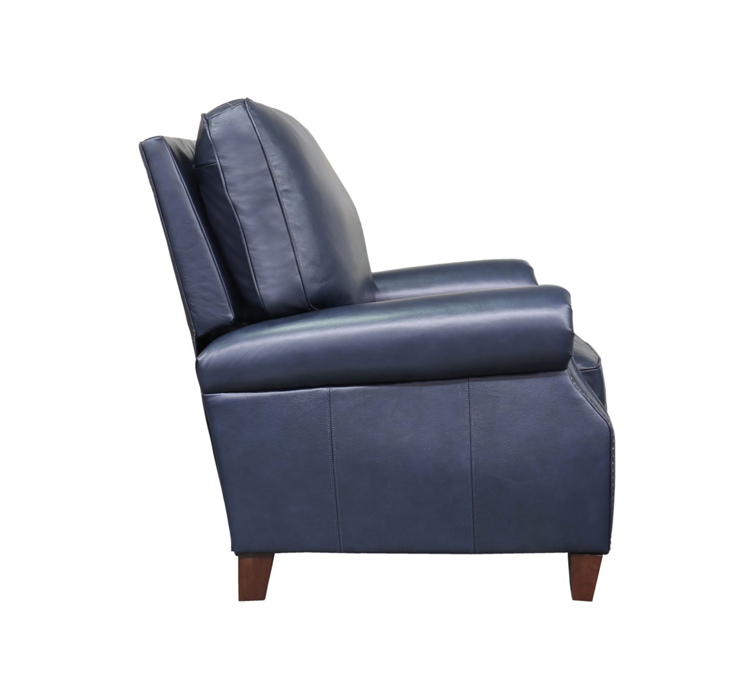 Barcalounger Briarwood Recliner Chair - Shoreham Blue/all leather