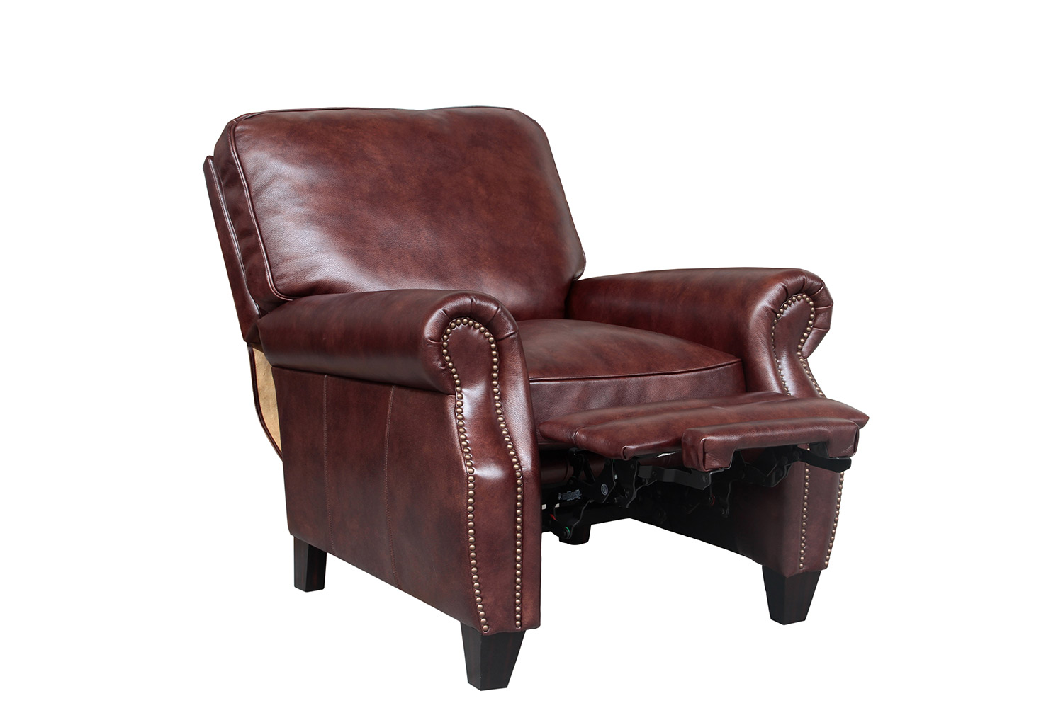 Barcalounger Briarwood Recliner Chair - Wenlock Fudge/All Leather