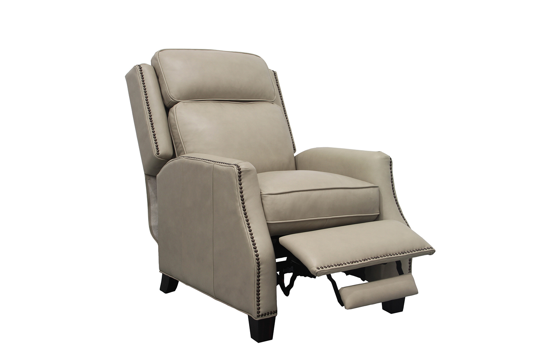 Barcalounger Van Buren Recliner Chair - Shoreham Cream/All Leather