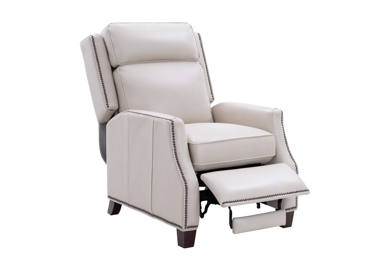 Barcalounger Van Buren Recliner Chair - Barone Parchment/All Leather