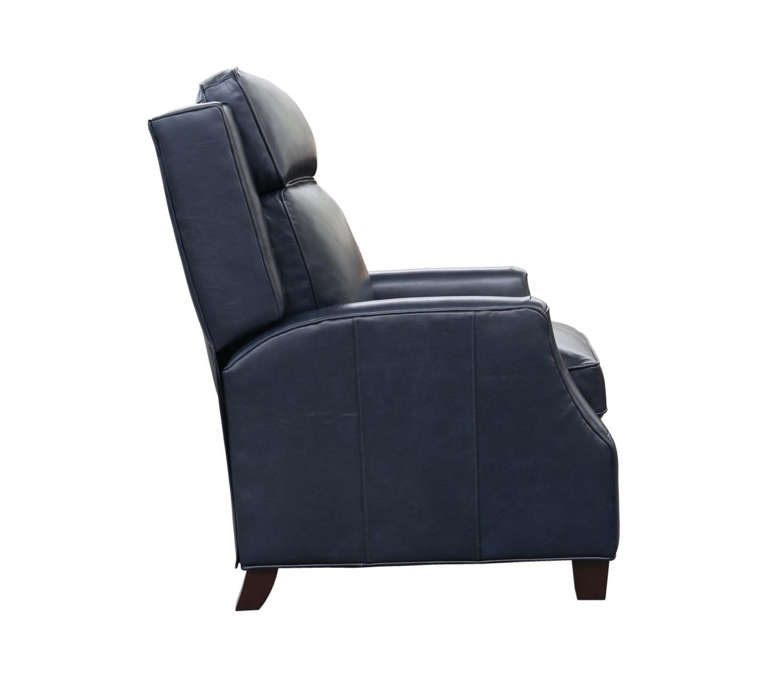Barcalounger Nixon Recliner Chair - Shoreham Blue/all leather