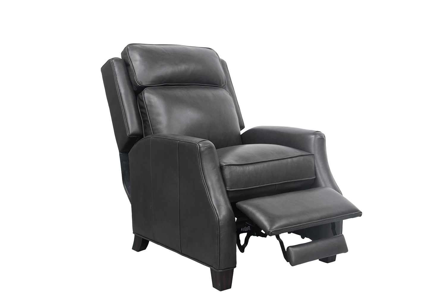 Barcalounger Nixon Recliner Chair - Shoreham Gray/All Leather