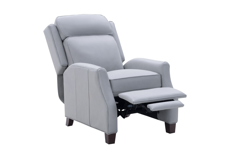 Barcalounger Nixon Recliner Chair - Corbett Chromium/All Leather