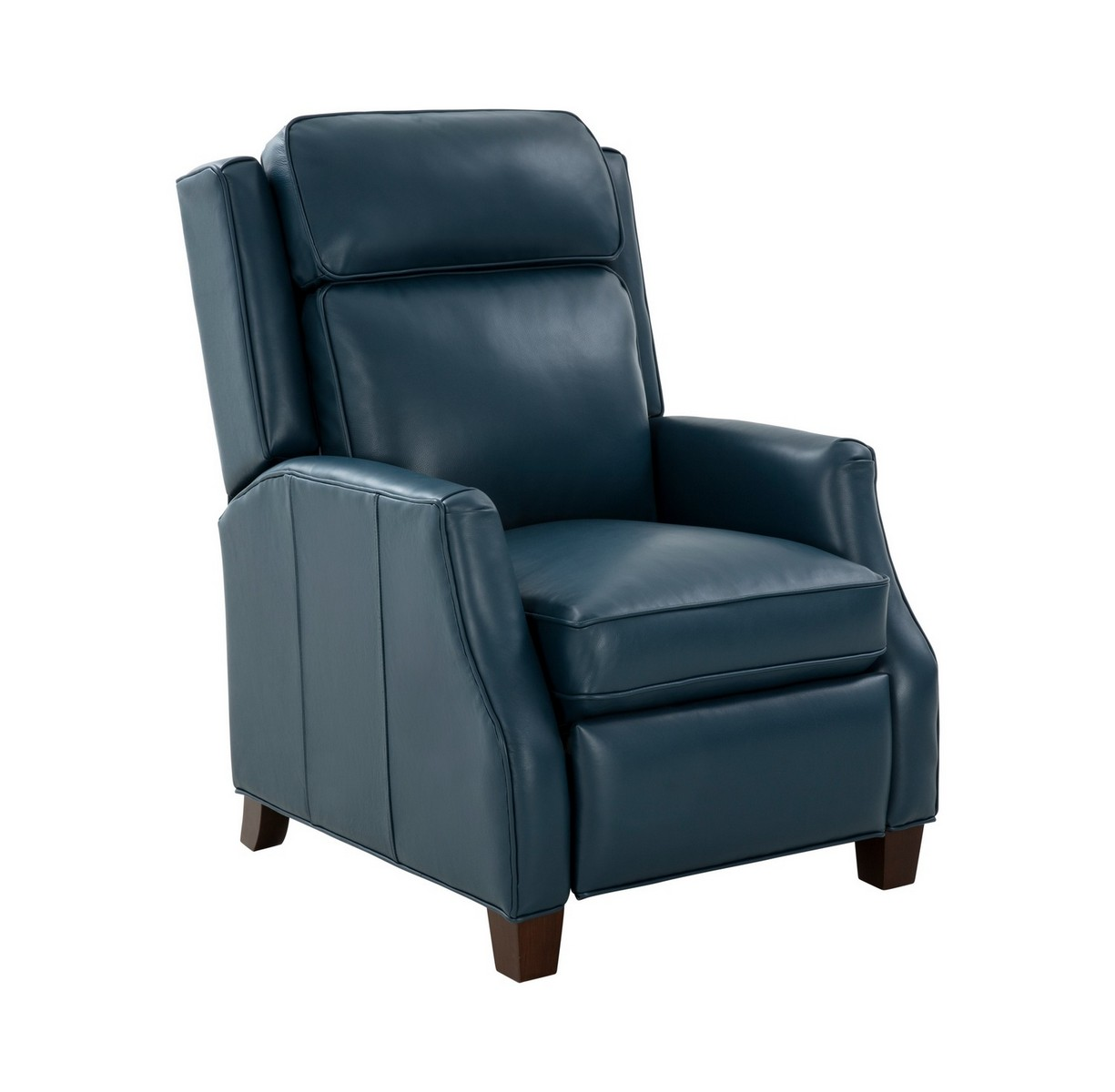 Barcalounger Nixon Recliner Chair - Prestin Yale Blue/All Leather