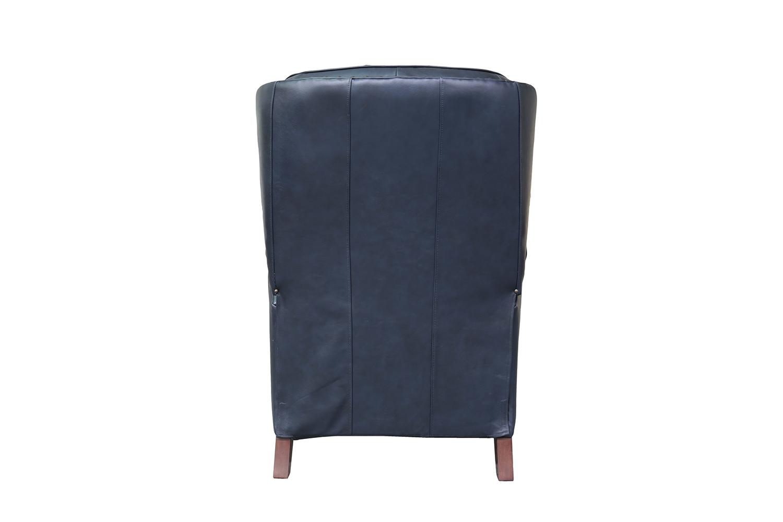 Barcalounger KendAll Recliner Chair - Shoreham Blue/All Leather