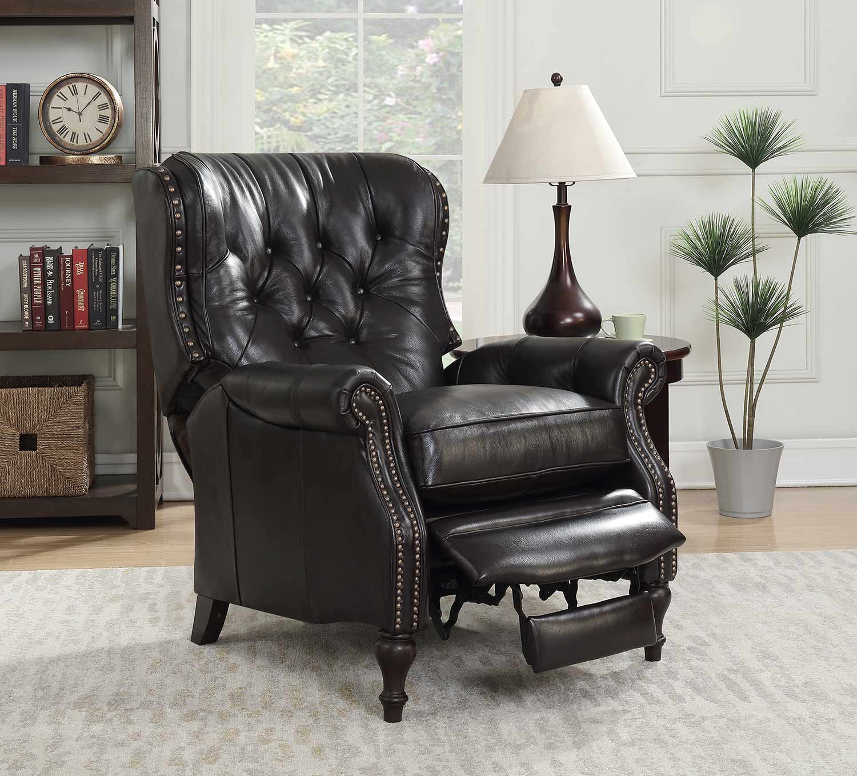 Barcalounger KendAll Recliner Chair - Shoreham Fudge/All Leather