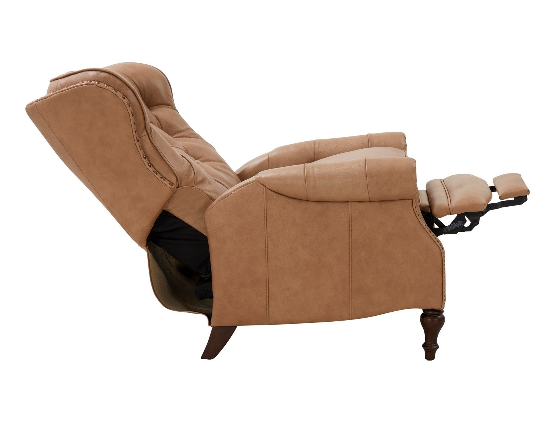 Barcalounger Kendall Recliner Chair - Prestin Tuscan Sun/All Leather