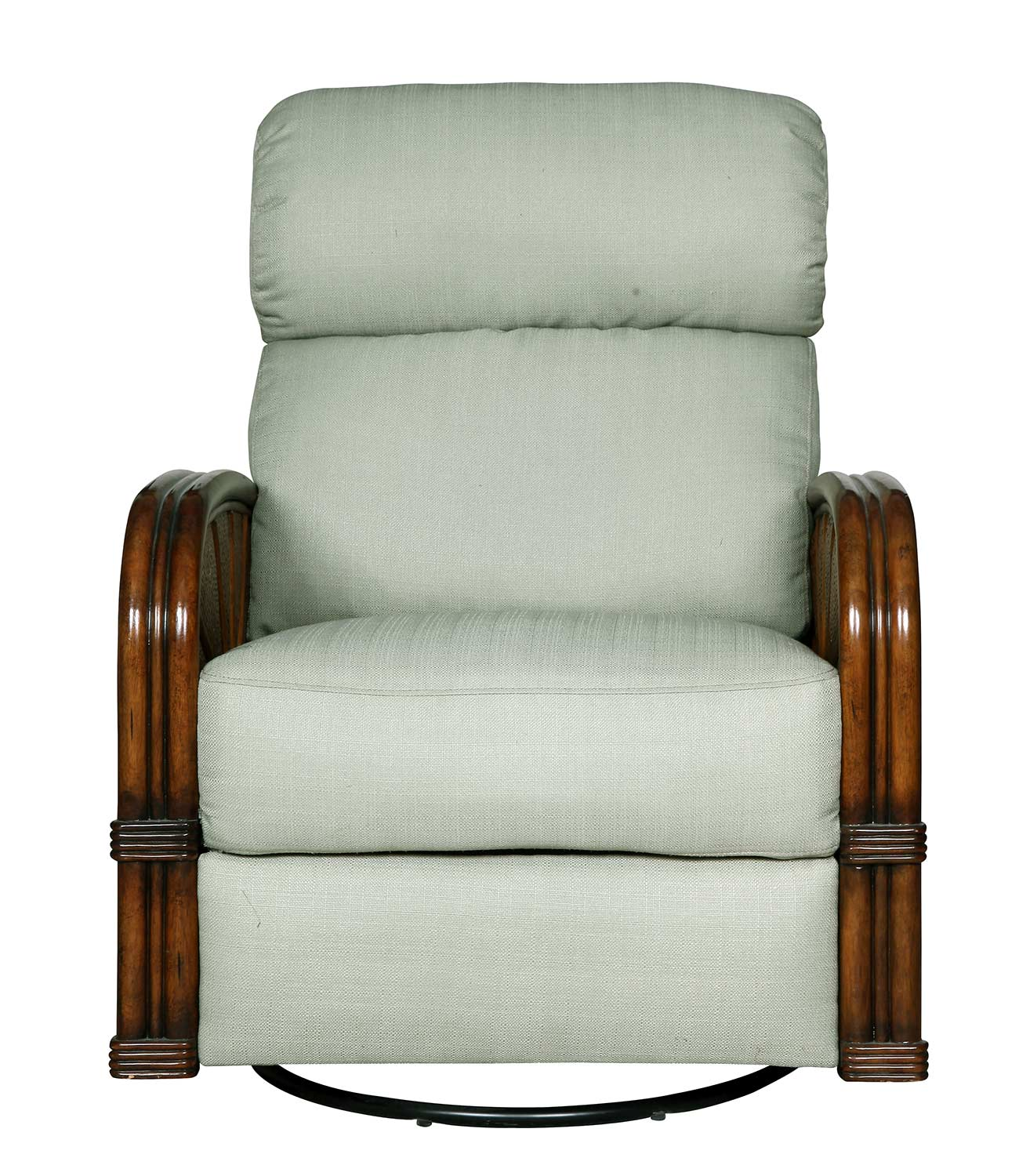 Select Barcalounger Ivory Bermuda ll Woodland Reserve Recliner Chair Ivory Product Photo