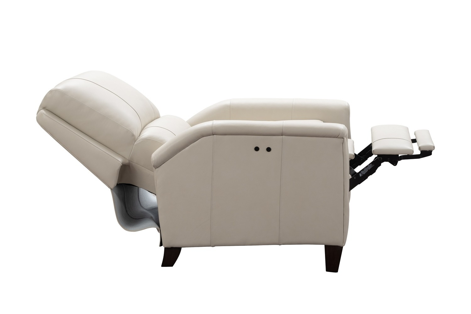 Barcalounger Quinn Power Recliner Chair - Barone Parchment/All Leather