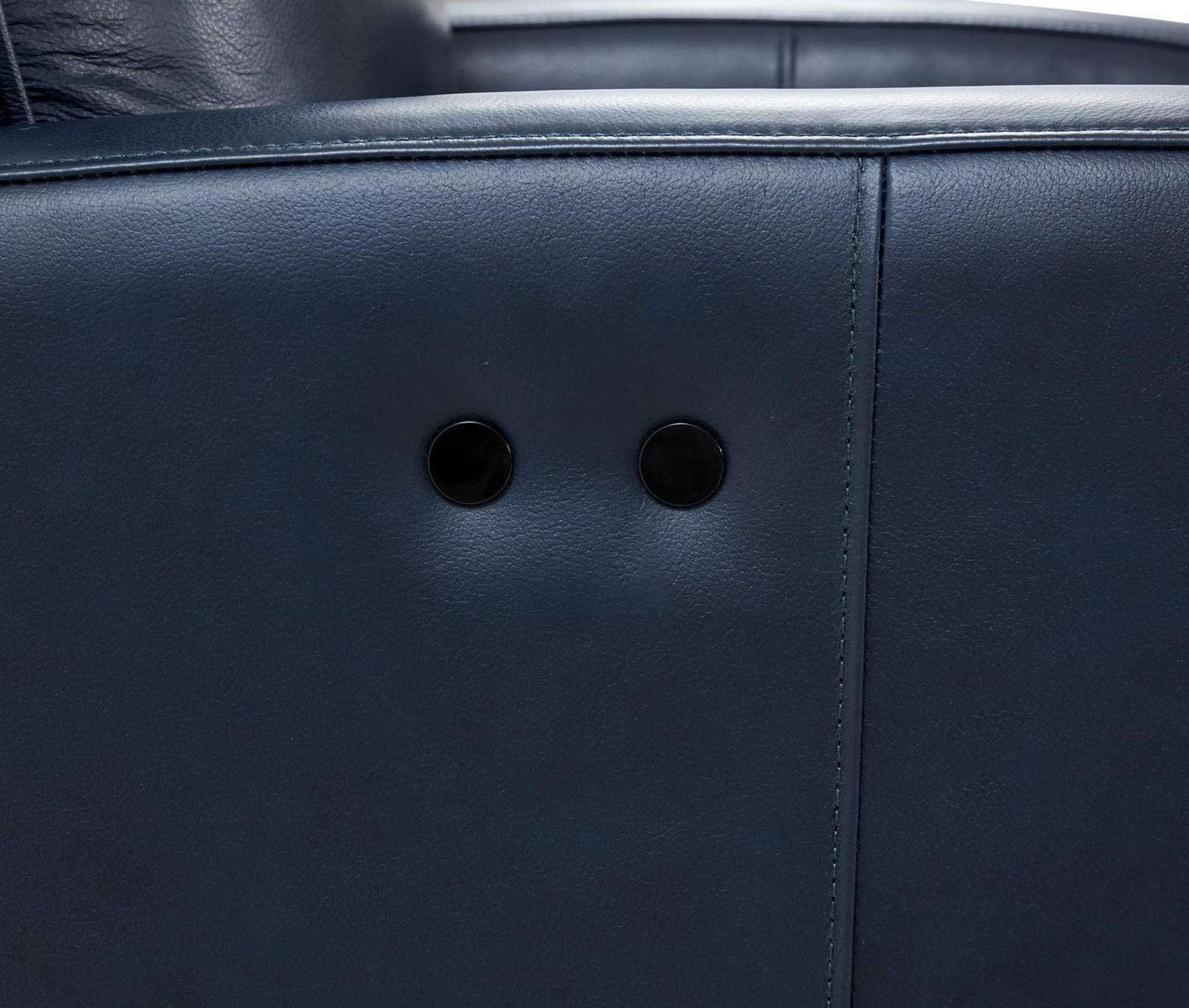 Barcalounger Penrose Power Recliner Chair - Shoreham Blue/All Leather