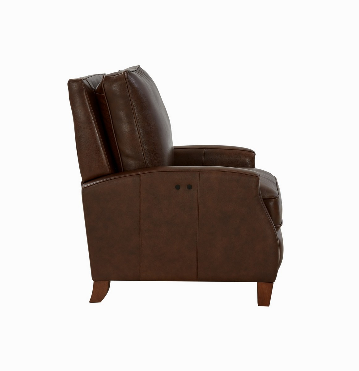 Barcalounger Penrose Power Recliner Chair - Wenlock Double Chocolate/All Leather