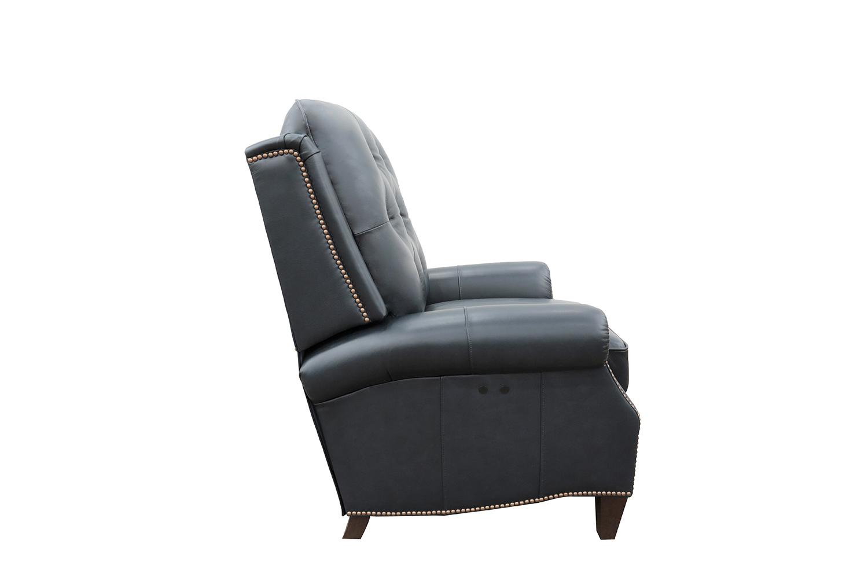 Barcalounger Ava Power Recliner Chair - Shoreham Blue/All Leather