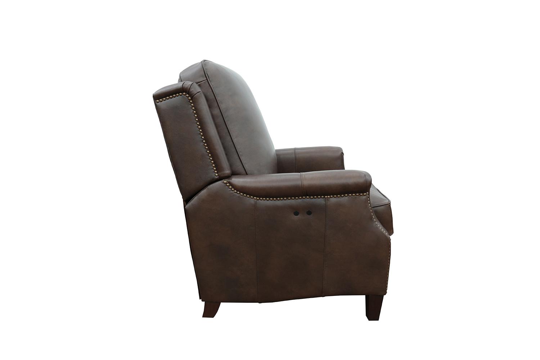 Barcalounger Riley Power Recliner Chair - Ashford Walnut/All Leather