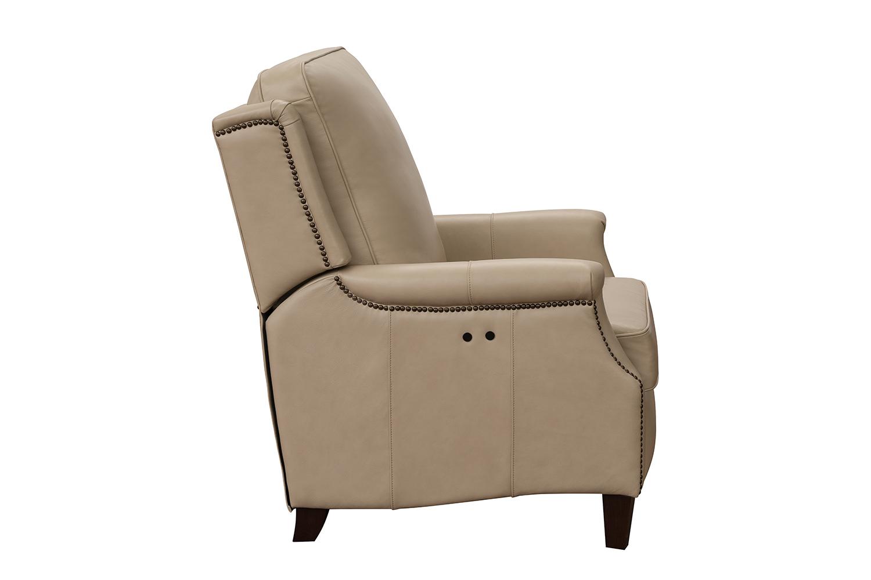 Barcalounger Riley Power Recliner Chair - Shoreham Cream/All Leather