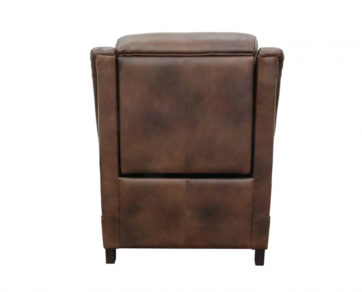 Barcalounger Warrendale Power Recliner Chair with Power Head Rest - Worthington Cognac/All Leather