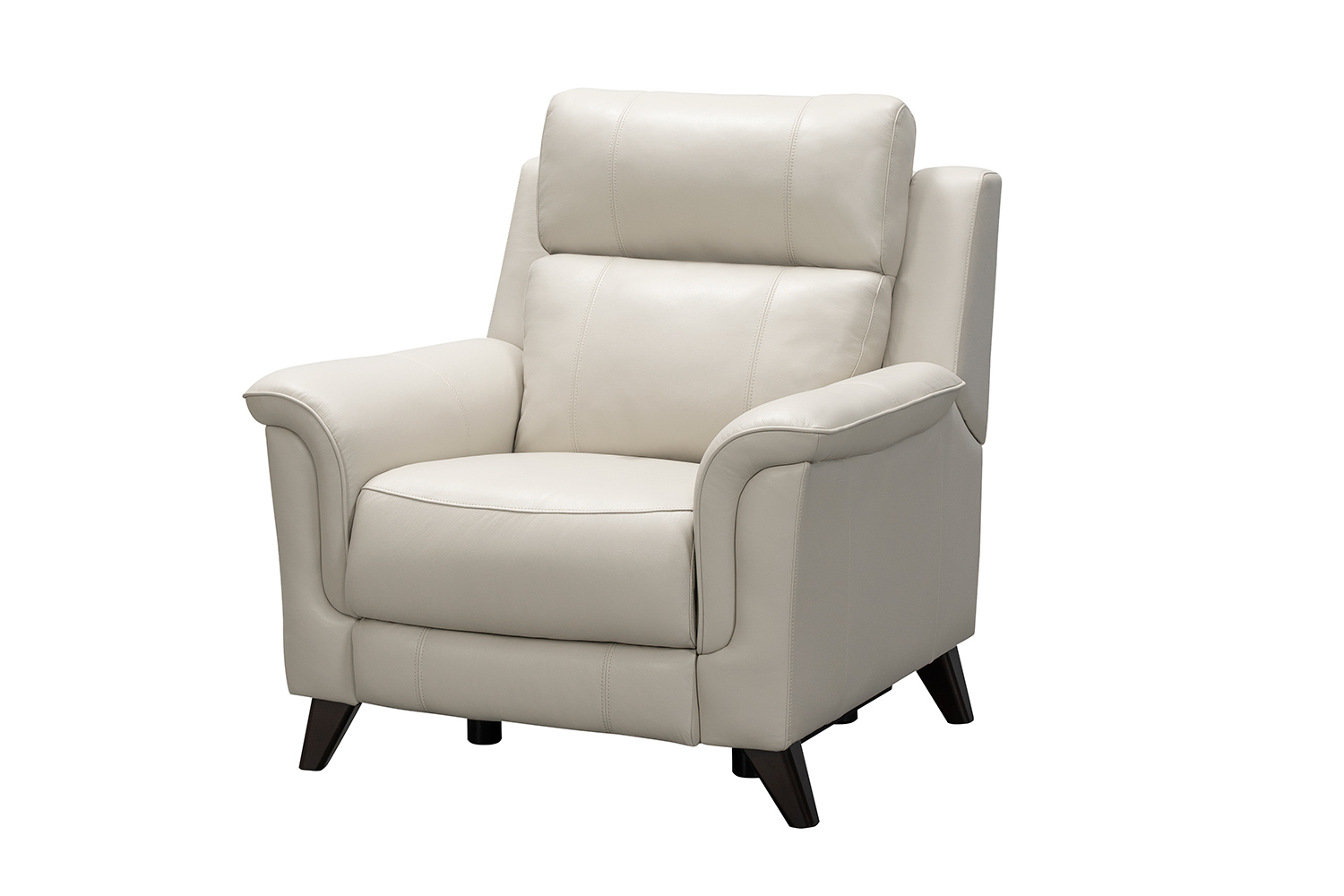 Barcalounger Kester Power Recliner Chair with Power Head Rest - Laurel Cream/Leather match