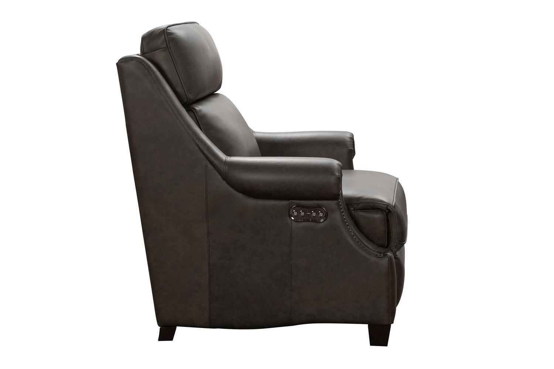 Barcalounger Oliva Power Recliner Chair with Power Head Rest - Bennington Hazelnut/All Leather