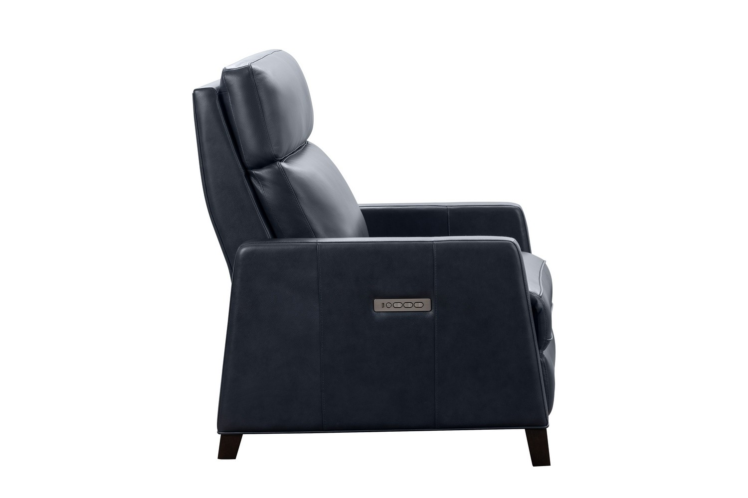 Barcalounger James Zero Gravity Power Recliner Chair with Power Head Rest and Lumbar - Barone Navy Blue/All Leather