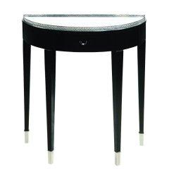 Traditional Accents Black Tie Hall Table