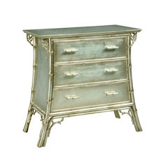 Traditional Accents Silver Cloud Chest