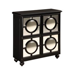 Traditional Accents Mirage Ebony Cabinet