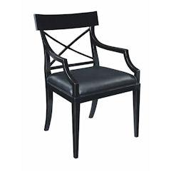 Traditional Accents Regency Chair Black