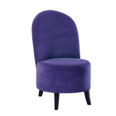 Traditional Accents Royal Purple Chair