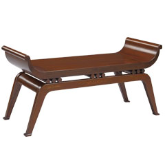 Traditional Accents Dynasty Bench - Cherry 6041092