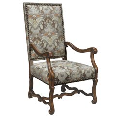 Traditional Accents Flemish Arm Chair
