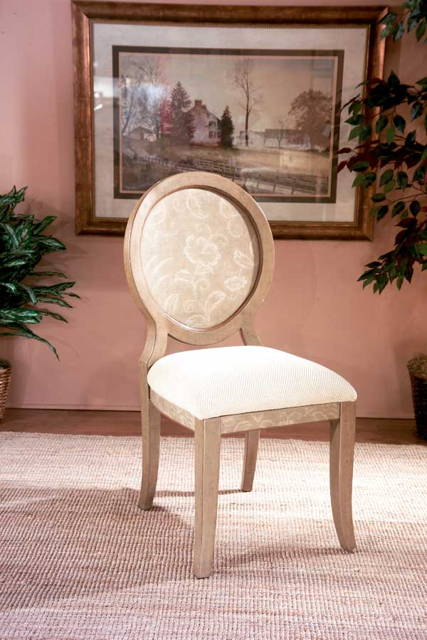 Butler Blush Floral Hand Painted Chair