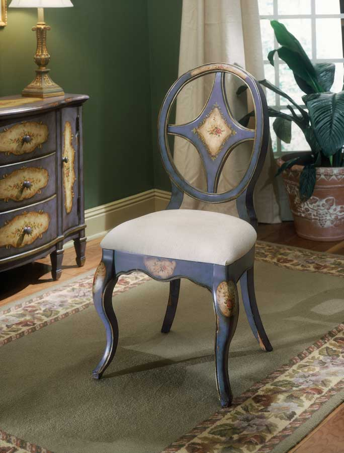 Butler Blue Hand Painted Chair